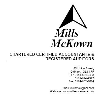Mills Mckown Chartered Certified Accountants and Auditors